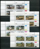 Bophuthatswana Mi# 201-5 Zylinderblocks Postfrisch/MNH Controls - Fauna, National Parks - Bophuthatswana