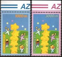 125 - Azerbaijan - 2000 - Europa - 2v - Lemberg-Zp - Azerbaiján