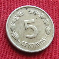 Ecuador 5 Centavos 1946 KM# 75b  Equador Equateur - Ecuador