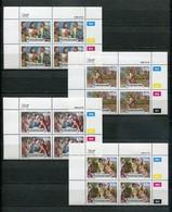 Bophuthatswana Mi# 214-7 Zylinderblocks Postfrisch/MNH Controls - Easter Stamps, The Lords Passion - Bophuthatswana
