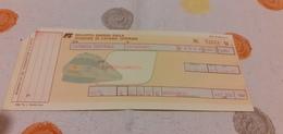 BIGLIETTO TRENO DA CATANIA CENTRALE A CATANZARO 1989 - Treni
