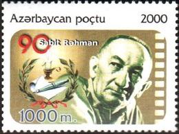 127 - Azerbaijan - 2000 - Sabit Rahman - 1v - Lemberg-Zp - Azerbaiján