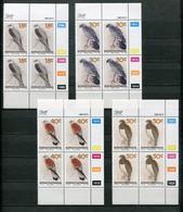Bophuthatswana Mi# 223-6 Zylinderblocks Postfrisch/MNH Controls - Fauna Birds - Bophuthatswana