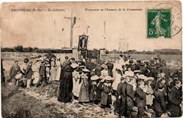 Escoubiac - La Baule 1916 - Procession En L'honneur De La Communion Au Calvaire - Collec. Aupiais Buraliste - !! Sale - La Baule-Escoublac