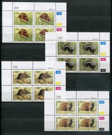 Bophuthatswana Mi# 235-8 Zylinderblocks Postfrisch/MNH Controls - Fauna - Bophuthatswana