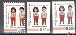 Bosnia Srpska -  Charity Stamp ,Red Cross 2020 MNH - Bosnien-Herzegowina