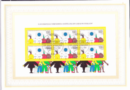 BRD FGR RFA - 10. Internat. Jugend-Briefmarken-Ausstellung (MiNr: Bl. 21) 1990 - ETB 23/1990 - [7] Repubblica Federale