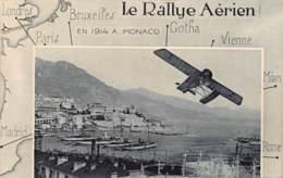 06 - ALPES MARITIMES - MONACO - 10006 - Cpa Ancienne Rallye Aérien 1914 - Sonstige Gemeinden