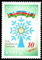 133 - Azerbaijan - 2002 - New Azerbaijan Party YAP - 1v - Lemberg-Zp - Azerbaiján