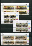 Bophuthatswana Mi# 265-8 Zylinderblocks Postfrisch/MNH Controls - Railway, Trains - Bofutatsuana