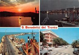 Cartolina San Benedetto Del Tronto Vedute 1973 - Ascoli Piceno
