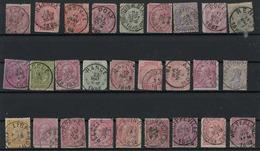 Lot Diverse Stempels (zegels Met Gebreken) - Marcophilie