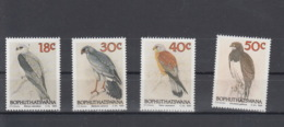 Bophutatswana Michel Cat.No.  Mnh/** 223/226 Birds - Bofutatsuana