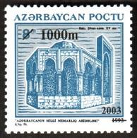 135 - Azerbaijan - 2003 - Architecture Of Baku - 1v - Lemberg-Zp - Azerbaiján