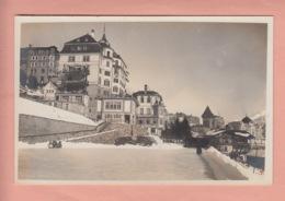 OUDE POSTKAART ZWITSERLAND - SCHWEIZ -  SUISSE -    ST. MORITZ - HOTEL - BELVEDERE - GR Grisons