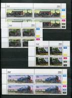 Bophuthatswana Mi# 298-301 Zylinderblocks Postfrisch/MNH Controls - Railway, Trains - Bofutatsuana