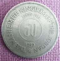 JORDANIË : 50 FILS 1949  KM 6 - Jordanie