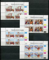 Bophuthatswana Mi# 307-10 Zylinderblocks Postfrisch/MNH Controls - Easter Stamps, The Lords Passion - Bofutatsuana