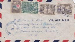HONDURAS ENVELOPPE CIRCULEE DE TEGUCIGALPA A BOCARAMANGA, COLOMBIE ANNEE 1928 PAR AVION -LILHU - Honduras
