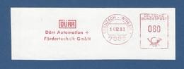 BRD AFS - GRENZACH - WYHLEN, DÜRR Automation + Fördertechnik GmbH - Affrancature Meccaniche Rosse (EMA)