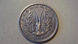 MONNAIE AFRIQUE OCCIDENTALE FRANCAISE 2 FRANCS 1948 - Monedas