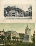 1910 - LJUBLJANA  , 2 Stk., Gute Zustand, 2 Scan - Slovenië