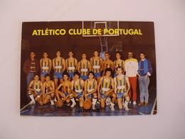 Sports Basketball Basquetebol Atlético Clube De Portugal Juvenis Portugal Portuguese Pocket Calendar 1988 - Tamaño Pequeño : 1981-90