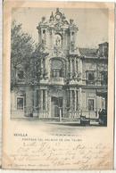 SEVILLA PALACIO DE SAN TELMO DORSO SIN DIVIDIR - Sevilla