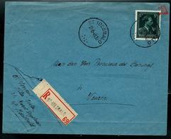 Doc. De ST IDESBALD  17/08/48 En Rec.  (Col Ouvert V) - Poststempel