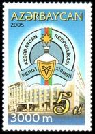 144 - Azerbaijan - 2005 - Taxes Ministry - 1v - Lemberg-Zp - Azerbaiján