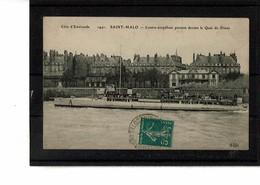 35 - SAINT MALO - Contre Torpilleur Passant Devant Le Quai  - 3829 - Saint Malo