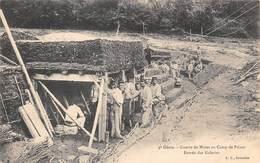 Poisat         38       4 ème Génie  Guerre De Mines Au Camp. Entrée Des Galeries  (voir Scan) - Autres Communes