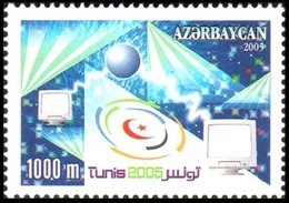 145 - Azerbaijan - 2005 - UPU Conference Tunis - 1v - Lemberg-Zp - Azerbaiján