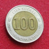 Ecuador 100 Sucres 1997 KM# 101 Equador Equateur - Ecuador