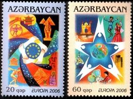 147 - Azerbaijan - 2006 - Europa - Integration - 2v - Lemberg-Zp - Azerbaiján