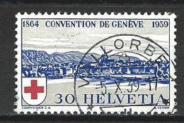 SBK 241, Mi 358 O Vallorbe - Suisse