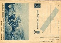 54744/bis, Romania Military Stationery 1943 Feldpost Faltbrief,scrisoare De Campanie,military Truppen,maresalui Antonesc - Enteros Postales