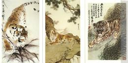 Chine Un Lot De 5 Cartes Neuves, Entiers Postaux Thème (Tigres) - 1949 - ... People's Republic