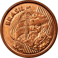 Monnaie, Brésil, Centavo, 2004, TTB, Copper Plated Steel, KM:647 - Brasil