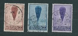 [1934] Zegels 353 - 355 Gestempeld - Belgium