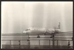 Airplane Aerodrome Airport Old Photo 14x9 Cm #28504 - Aviation