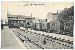 VILLEFRANCHE - La Gare Du CFB - Intérieur De La Gare Du Beaujolais - TRAIN - Villefranche-sur-Saone