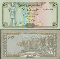 North Yemen (Arab Republic.) Pick-number: 27A, Signature 9 Uncirculated 1993 50 Rials - Yemen