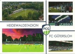 STADIUM POSTCARD ESTADIO STADE STADION STADIO GÜTERSLOH - Stadi