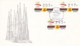 España Sobre Nº 3250 - Verano 1992: Barcelona