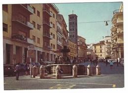 6545 - VELLETRI ROMA PIAZZA CAIROLI FONTANA DEL BERNINI ANIMATA 1970 - Velletri
