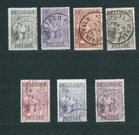 [1921] Zegels 377 - 383 Gestempeld - Used Stamps