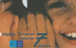 Turkey, TR-TT-N-232, 7th Annv. Of TT - Horizontal, 2 Scans. - Turkey
