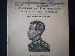 L ÉMISSION PORTMAN DANS TOUS SES DÉTAILS PETIT LIVRET DE 16 PAGES PAR LOUIS GAILLY ANNÉE 1945 - Non Classés