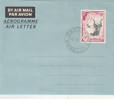 Swaziland / 1961 / Aerogramm Gestempelt (BI07) - Swaziland (...-1967)